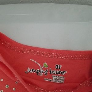 jumping beans Shirts & Tops - Sequined long sleeve shirt